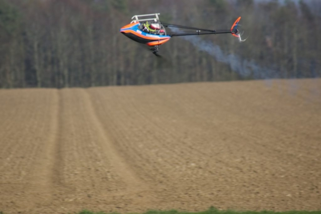 IC Heli in action